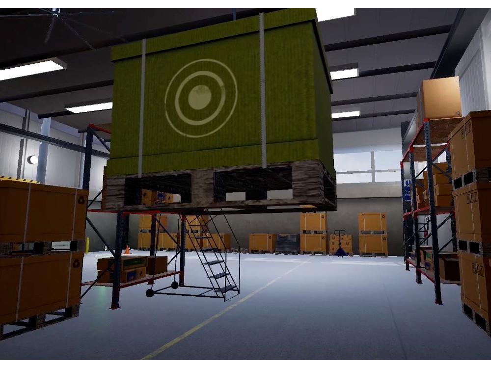 Emendo Serious Games - Heavy Industries Training Using Virtual Reality