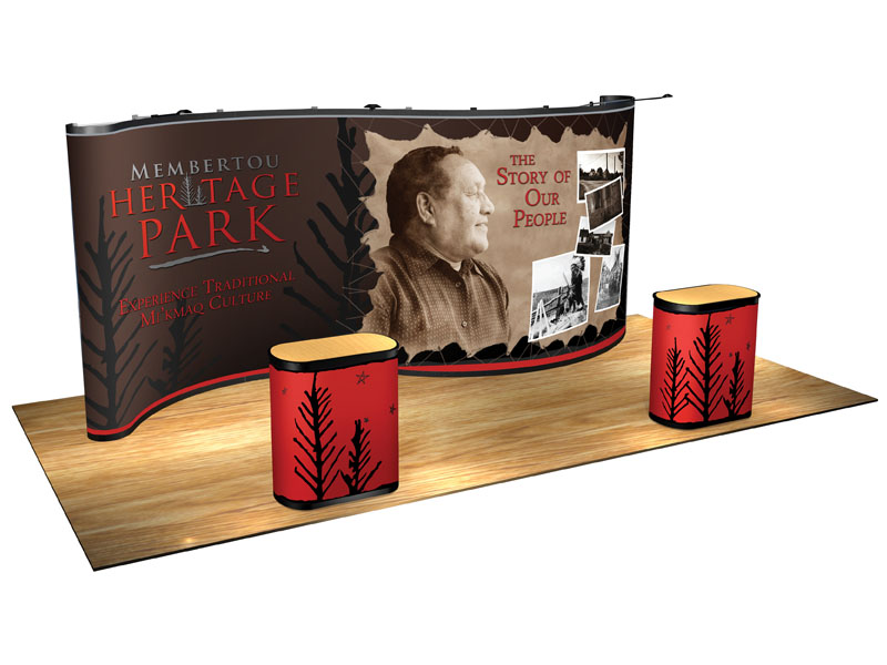 Membertou Heritage Park - Marketing strategy, creative, print, exhibit