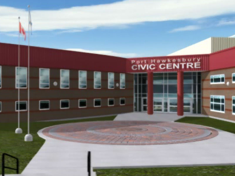 Port Hawkesbury Civic Centre - Mixed media virtual tour of the entire facility